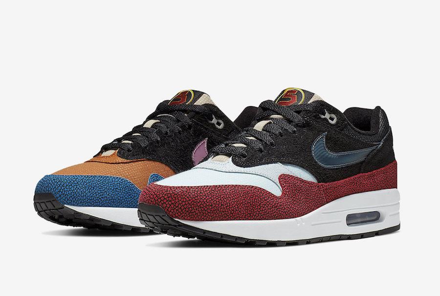 0af203cf0c De'Aaron Fox Nike Air Max 1 SWIPA CJ9746-001 Release Info | SneakerFiles