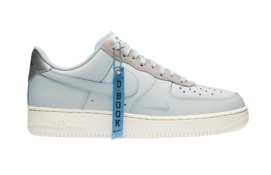 fdb122616988 Devin Booker x Nike Air Force 1 Low Releasing in June. Kicks logo