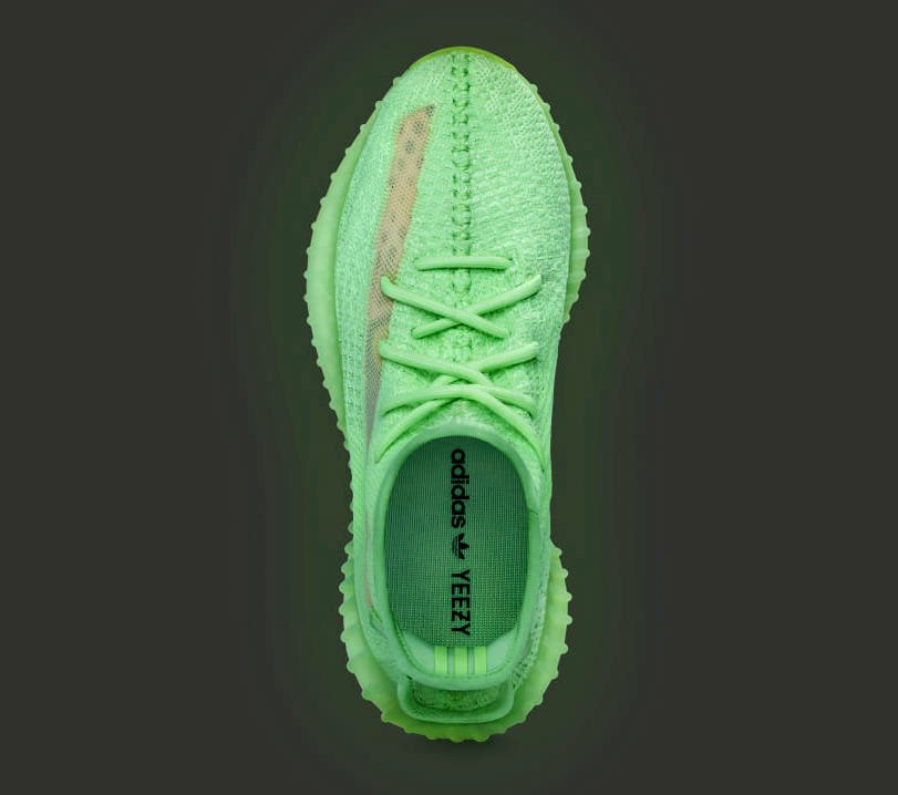 Glow adidas Yeezy Boost 350 V2