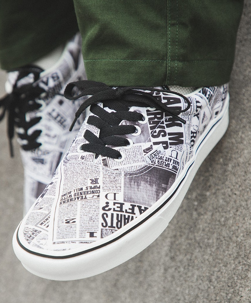 Harry Potter Vans Collection On Feet