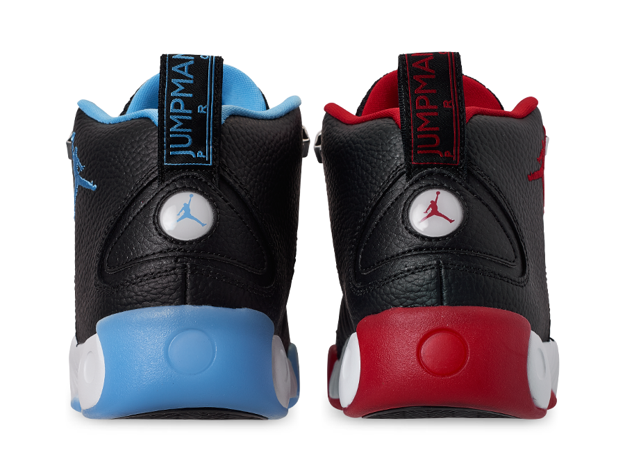 300f4adf42269 Jordan Jumpman Pro Mismatched Black Gym Red University Blue CK0009-001  Release Info