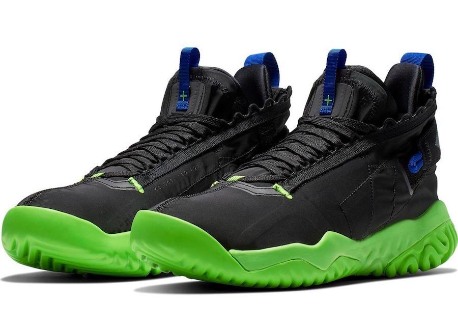 Jordan Proto React Black Green Release Info