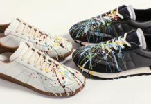 Maison Margiela Paint Splattered Collection