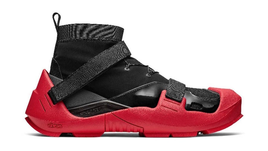 Matthew M. Williams Nike Black Red Release Info