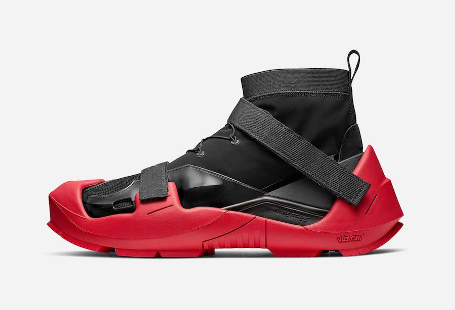 Matthew M Williams Nike Free TR 3 SP Black Red Release Date Info