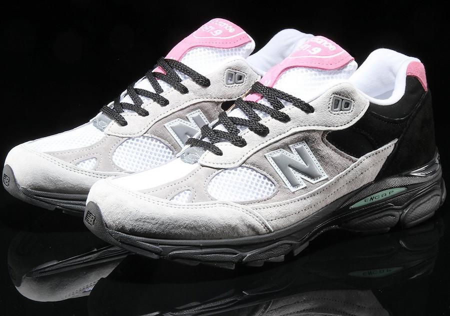 New Balance 991.9 Grey Pink Pigskin Release Info