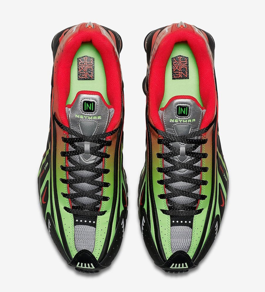 Neymar Nike Shox R4 BV1387-001 Release Info