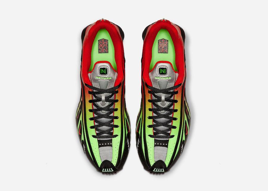 Neymar Nike Shox R4 Watermelon Release Info