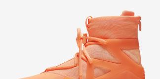 Nike Air Fear of God 1 Orange Pulse AR4237-800 Release Info