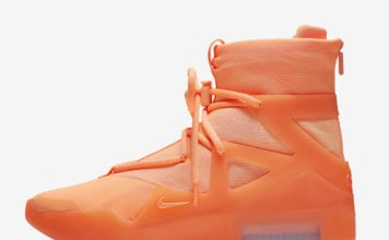 Nike Air Fear of God 1 Orange Pulse AR4237-800 Release Info