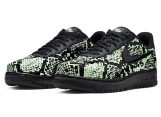 sports shoes 750a8 e33cf Nike Air Force 1 Foamposite Pro Cup  Glow Snakeskin  Releasing Soon