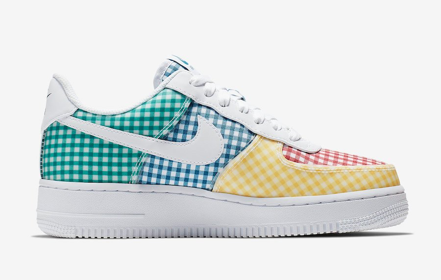 Nike Air Force 1 Gingham Pack Release Info | SneakerFiles