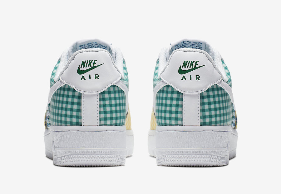 Nike Air Force 1 Gingham BV4891-100 Release Info
