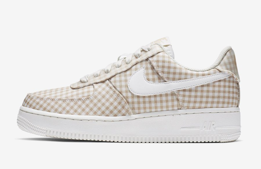 Nike Air Force 1 Gingham BV4891-101 Release Info