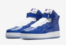 half off 6f0df e512a Nike is Paying Tribute to the Detroit Pistons  04 Championship with the Air  Force 1 High
