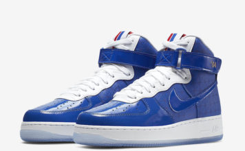 Nike Air Force 1 High 2004 NBA Finals CI9880-400 Release Info