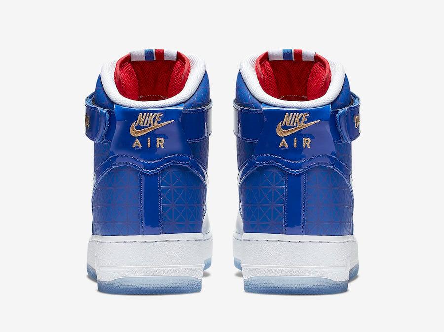 Nike Air Force 1 High 2004 NBA Finals CI9880-400 Release Info