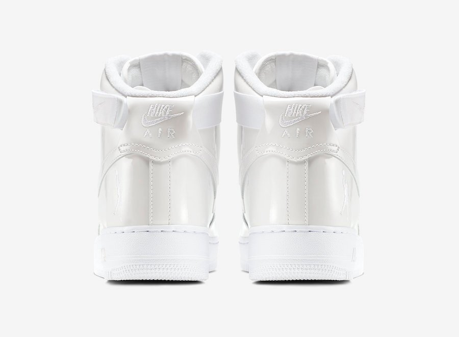 Nike Air Force 1 High Sheed Triple White 743546-107 Release Info Price