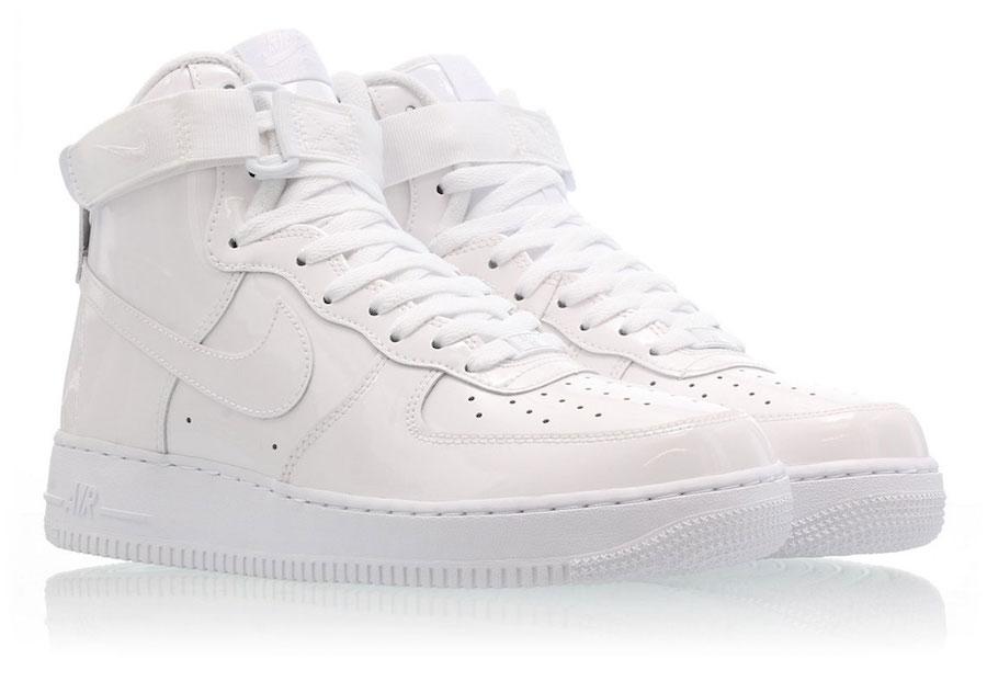 Nike Air Force 1 High Sheed White 743546-107 Release Info