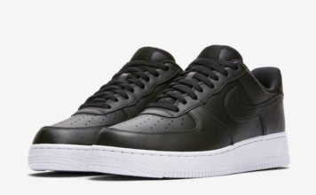 more photos b35d9 a6713 Nike Air Force 1 Low in Black and White Starting to Release