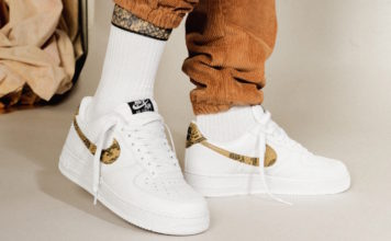 Nike Air Force 1 Low Ivory Snake AO1635-100 Release Info
