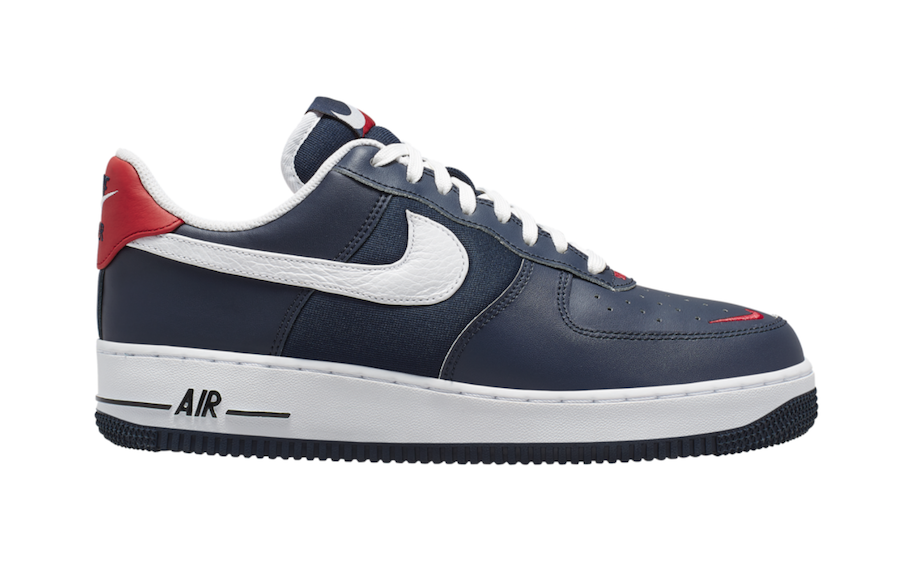 Nike Air Force 1 Low Obsidian White University Red CJ8731-400 Release Info
