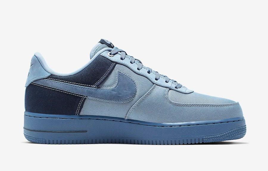 Nike Air Force 1 Low Premium Denim Ashen Slate Diffused Blue CI1116-400 Release Info
