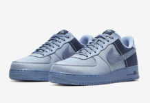 Nike Air Force 1 Low Premium Denim Ashen Slate Diffused Blue CI1116-400 Release Info