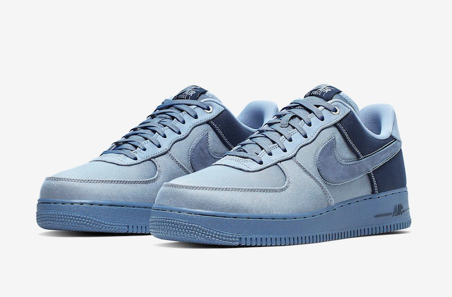Nike Air Force 1 Low Premium Denim Ashen Slate Diffused Blue CI1116-400 Release Info | SneakerFiles