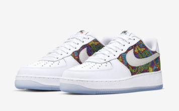 Nike Air Force 1 Low Puerto Rico CJ1620-100 Release Info
