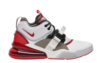 Nike Air Force 270 White University Red AH6772-102 Release Info