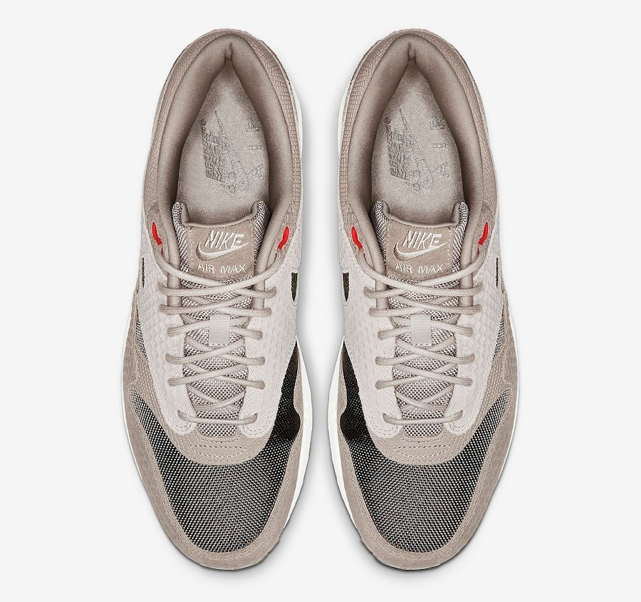 Nike Air Max 1 Premium Moon Particle 875844-205 Release Info