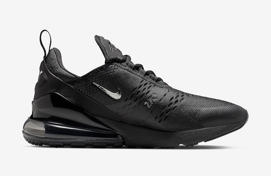 Nike Air Max 270 Black Chrome CI2671-001 Release Info