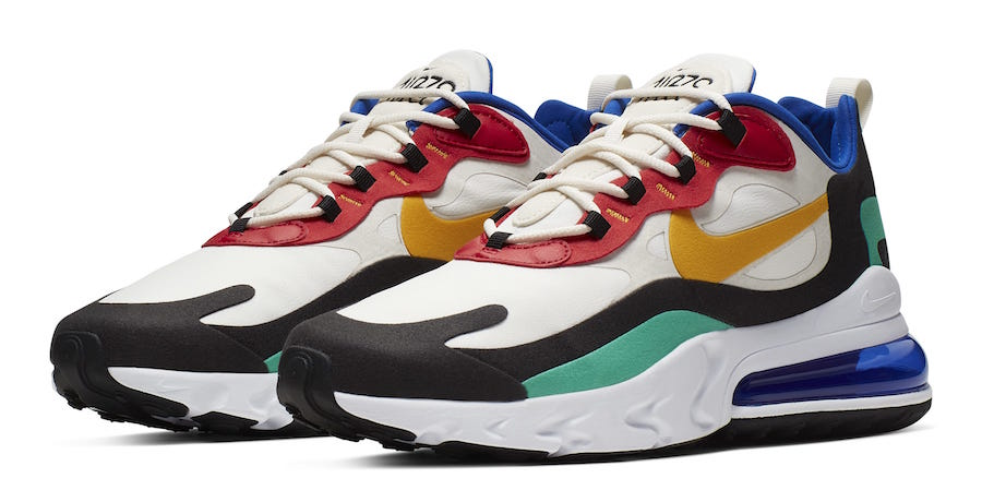air max 270 react colourways