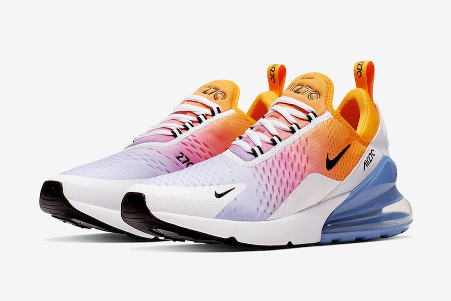 super popular 297a9 f2c1c Nike Air Max 270 University Gold University Blue AH8050-702 ...