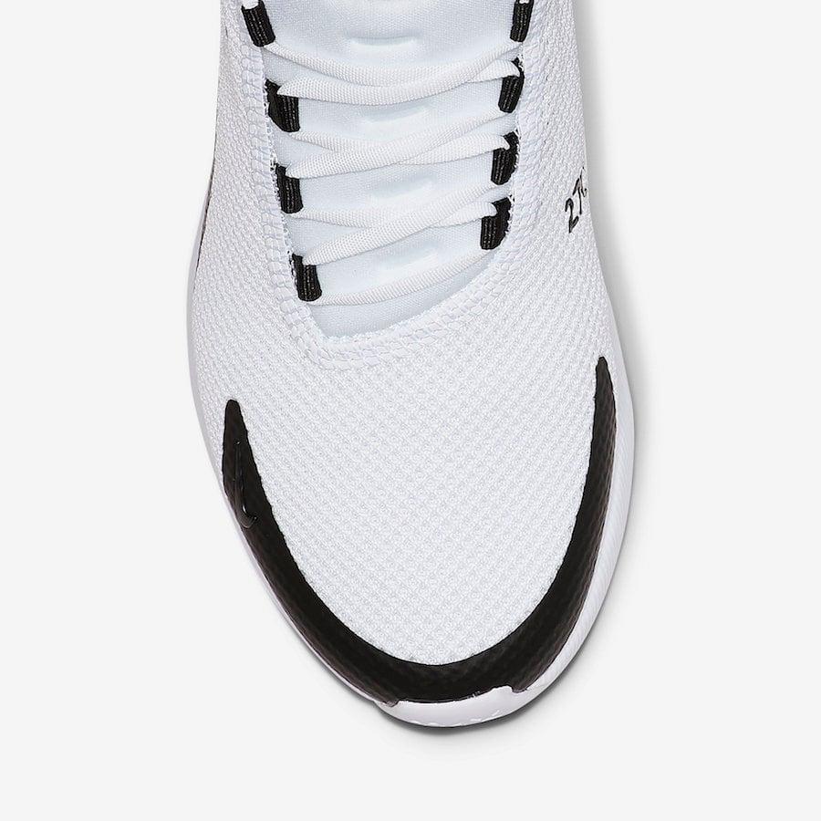 Nike Air Max 270 White Black Floral AR0499-100 Release Info
