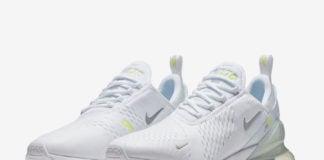 Nike Air Max 270 White Volt Metallic Silver CI2671-100 Release Info