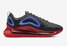the latest b59dc 068b9 Nike Air Max 720 Releasing with Red and Blue Accents