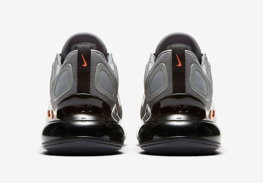 Nike Air Max 720 Cool Grey Bright Crimson CK0897-001 Release Info