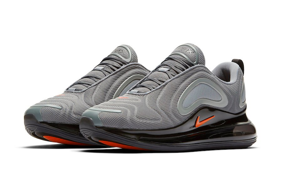 Nike Air Max 720 Cool Grey Bright Crimson CK0897 001 Release
