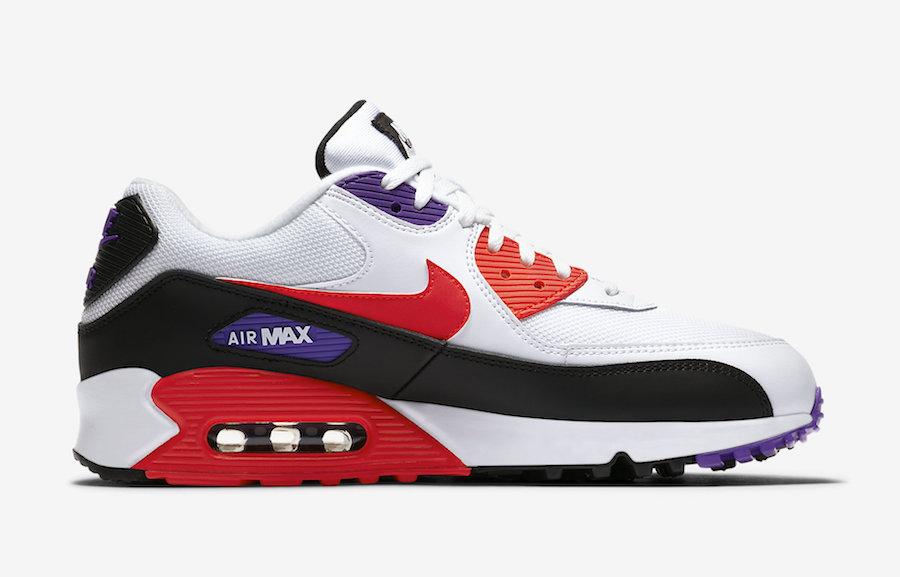Nike Air Max 90 Raptors AJ1285-106 Release Info