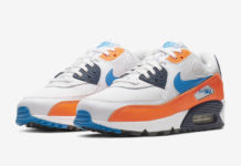 Nike Air Max 90 Total Orange Photo Blue AJ1285-104 Release Info