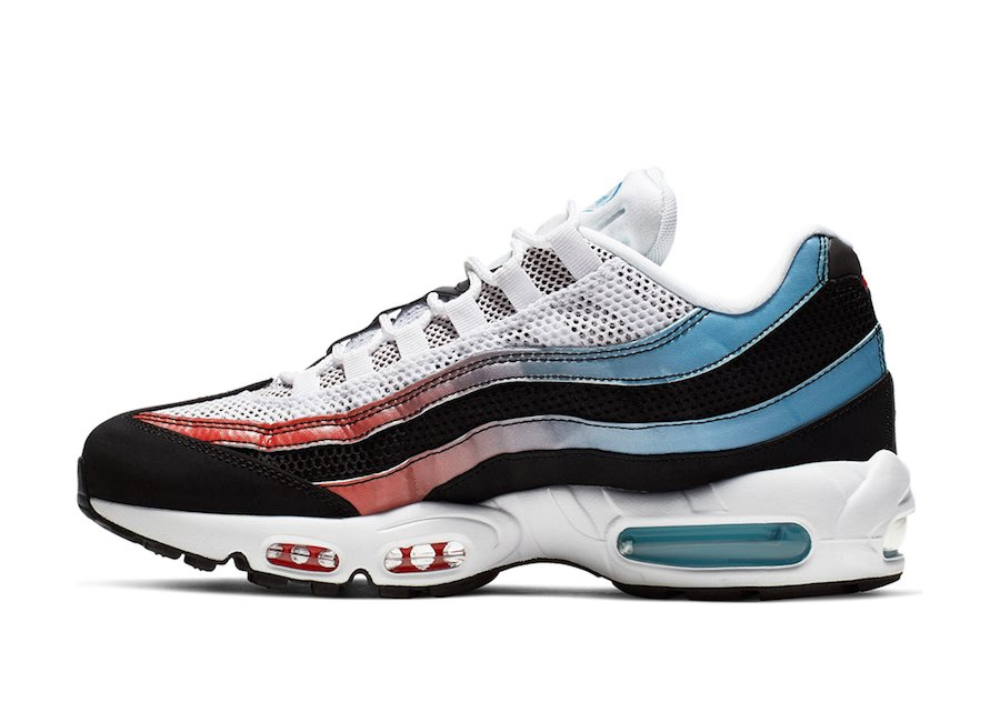 Nike Air Max 95 University Red Blue Fury CK0037-001 Release Info