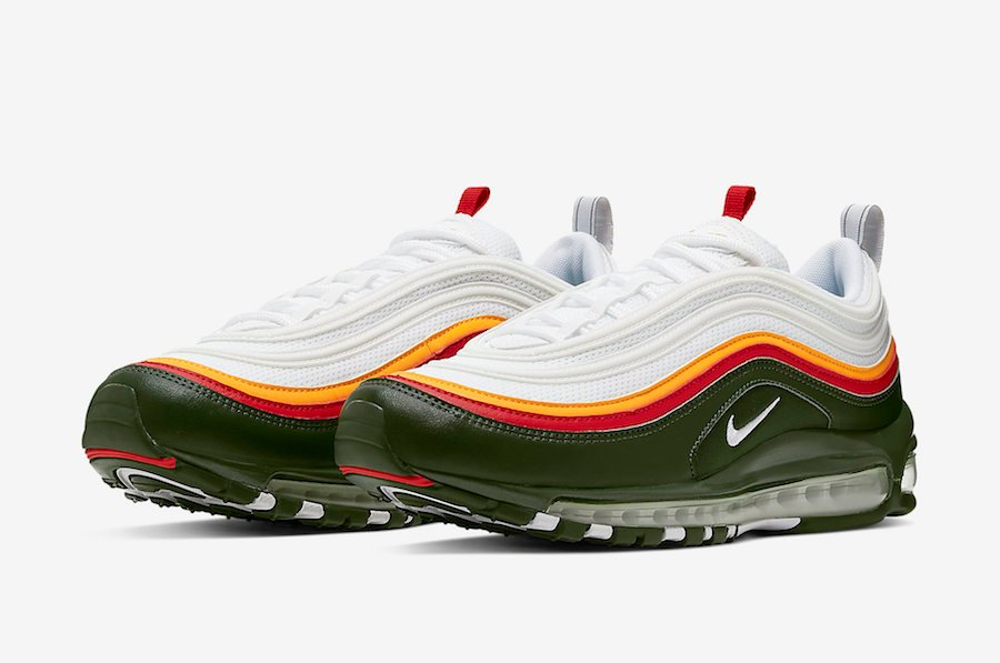 Nike Air Max 97 White Evergreen CK0224-100 Release Info
