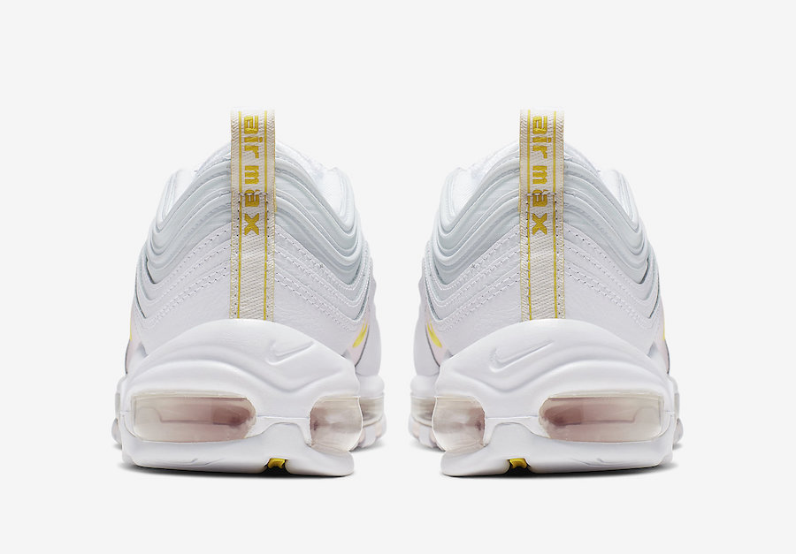 Nike Air Max 97 White Yellow Pink CI9089-100 Release Info