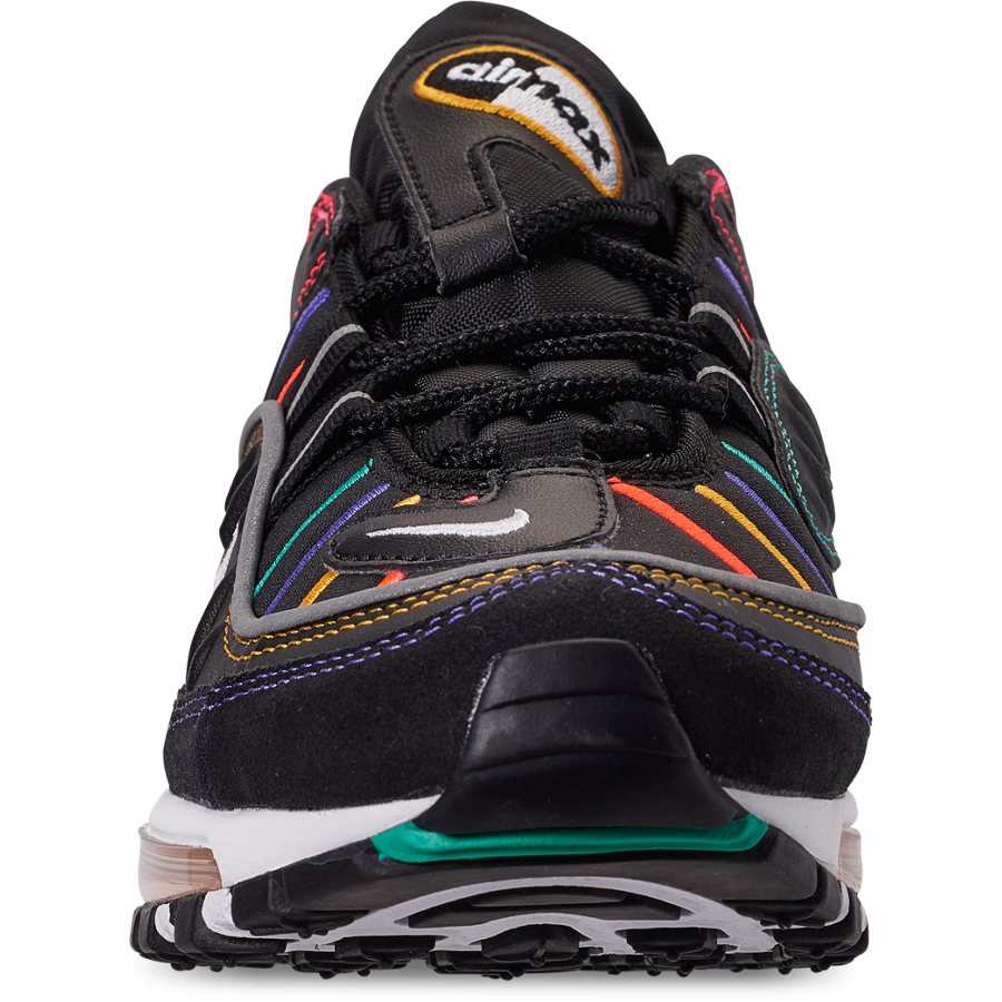 Nike Air Max 98 Black Multicolor CJ7393-001 Release Info