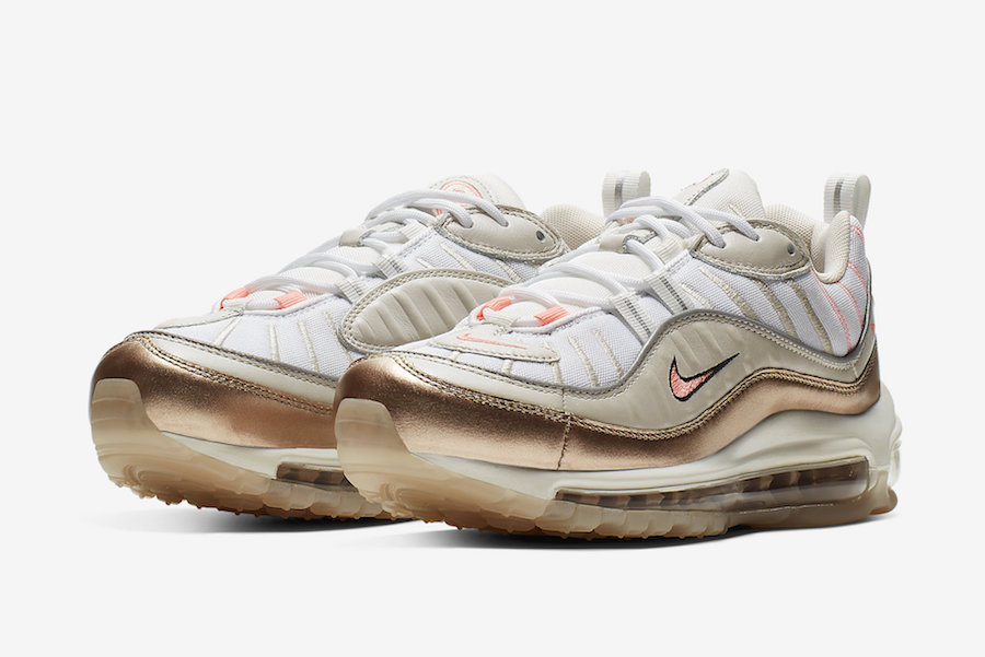design de qualité 9b101 efbe2 Nike Air Max 98 Rose Gold CI9907-100 Release Info | SneakerFiles