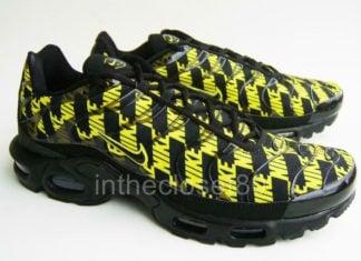 Nike Air Max Plus Black Optic Yellow CJ5331-001 Release Info