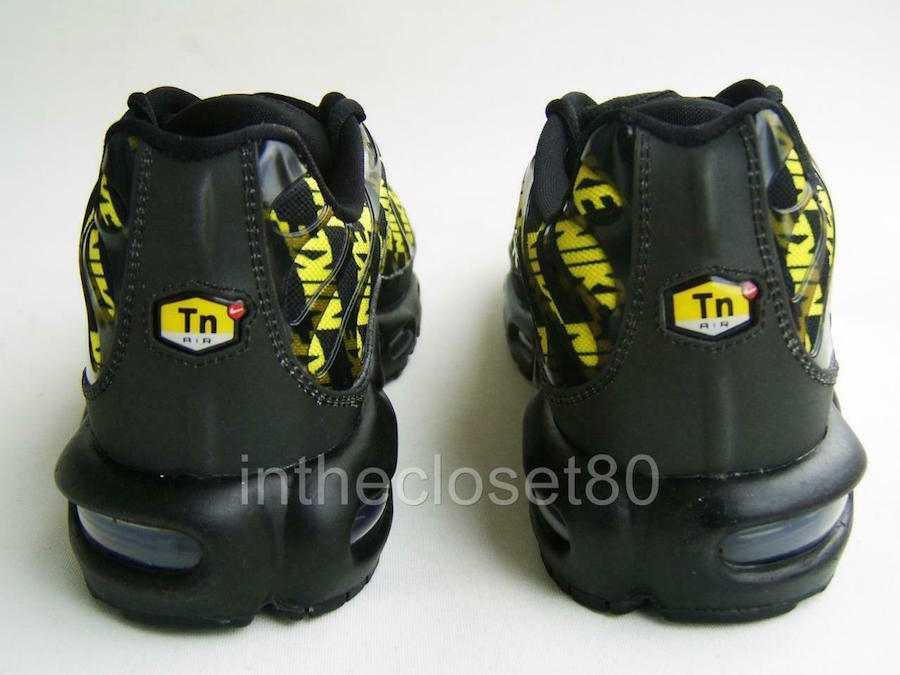 Nike Air Max Plus Black Optic Yellow CJ5331-001 Release Info