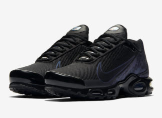 Nike Air Max Plus Just Do It Black Iridescent CJ9697-001 Release Info